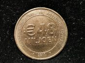 Netherlands, Postcode Lottery Advertising Token 2011, VF, T1446